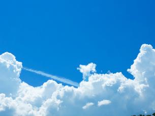 夏空に入道雲の写真素材 [FYI01471012]