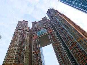 香港のビル群の写真素材 [FYI01471417]