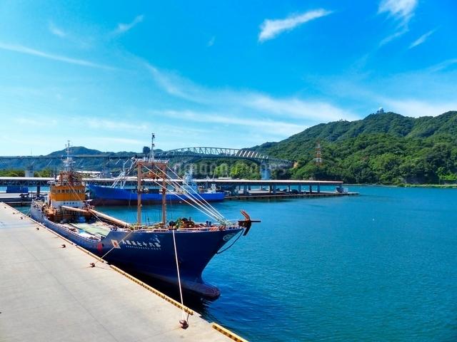 境港の漁港の写真素材 [FYI01471708]