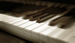 ピアノの鍵盤の写真素材 [FYI01471710]