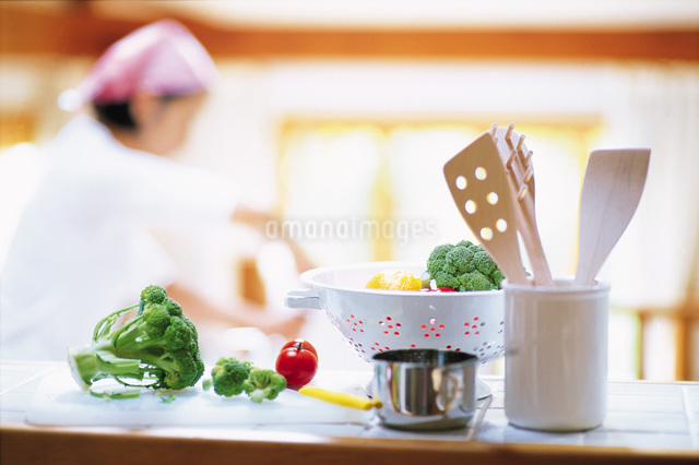 キッチンイメージの写真素材 [FYI01471764]