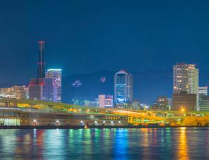 神戸港夜景の写真素材 [FYI01472279]