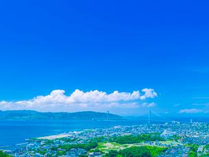 淡路島遠望の写真素材 [FYI01472837]