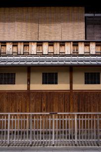 京町屋の写真素材 [FYI01473236]