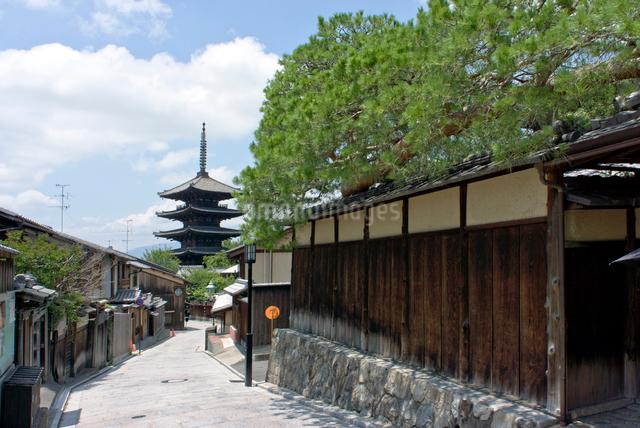八坂の塔の写真素材 [FYI01473338]