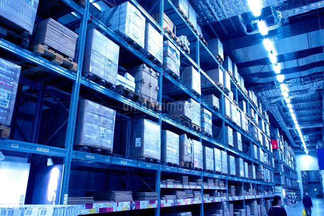 商品倉庫の写真素材 [FYI01473681]