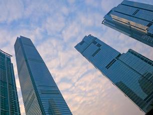 香港のビル群の写真素材 [FYI01473936]