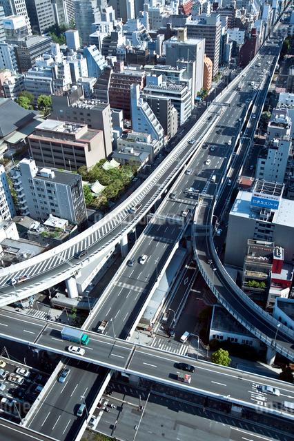 阪神高速道路 西船場ジャンクションの写真素材 [FYI01474733]