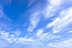 青空と雲の写真素材 [FYI01474891]