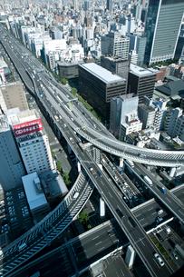 阪神高速道路 西船場ジャンクションの写真素材 [FYI01474938]