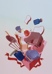 キッチンBOXのイラスト素材 [FYI01475623]