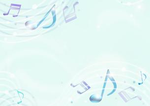 音符のイメージのイラスト素材 [FYI01475821]