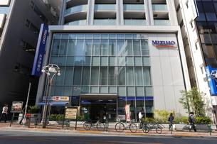 みずほ銀行高田馬場支店の写真素材 [FYI01477022]
