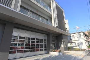 東京消防庁中野消防署東中野出張所の写真素材 [FYI01477046]