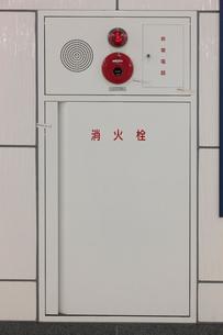 屋内の消火栓の写真素材 [FYI01477067]