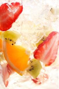 フルーツゼリーのイメージの写真素材 [FYI01477194]