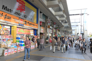 巣鴨駅前商店街の写真素材 [FYI01477268]