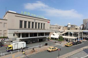JR上野駅正面玄関口の写真素材 [FYI01477376]