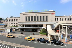 JR上野駅正面玄関口の写真素材 [FYI01477414]
