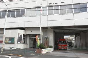 東京消防庁上野消防署谷中出張所の写真素材 [FYI01477734]