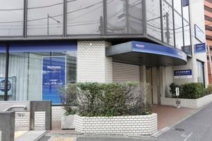 みずほ銀行江戸川橋支店の写真素材 [FYI01477875]
