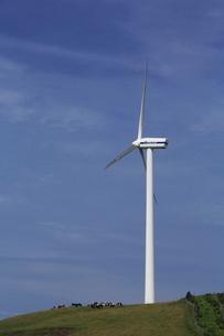グリーンパワーくずまき風力発電所の写真素材 [FYI01478039]