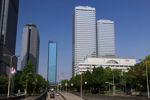 大阪ビジネスパーク OBPの写真素材 [FYI01478049]