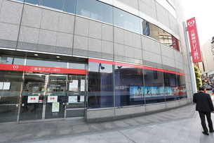 三菱東京UFJ銀行市ヶ谷支店の写真素材 [FYI01478075]