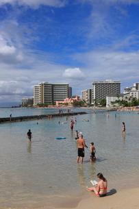 ワイキキビーチの写真素材 [FYI01478206]