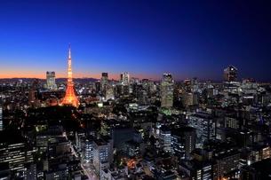 東京の夜景の写真素材 [FYI01478315]