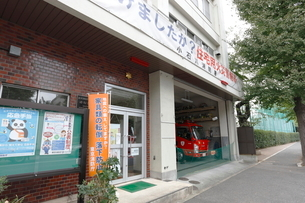 東京消防庁小石川消防署老松出張所の写真素材 [FYI01478342]