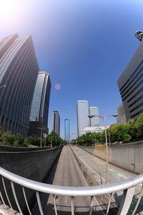 大阪ビジネスパーク OBPの写真素材 [FYI01478441]