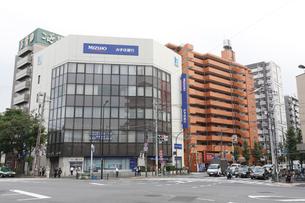 江戸川橋交差点の写真素材 [FYI01478454]