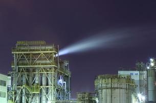 川崎の工場夜景の写真素材 [FYI01478518]