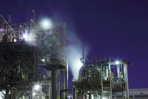 川崎の工場夜景の写真素材 [FYI01478542]