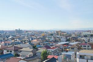 所沢駅付近から西方を望むの写真素材 [FYI01478584]
