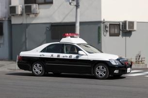 大阪府警のパトカーの写真素材 [FYI01478732]