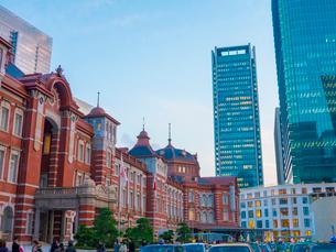 東京駅丸の内口の写真素材 [FYI01478826]