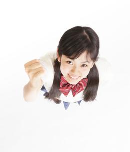 女子中学生のポートレートの写真素材 [FYI01478912]