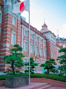 東京駅丸の内駅舎の写真素材 [FYI01479098]