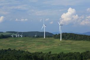グリーンパワーくずまき風力発電所の写真素材 [FYI01479362]