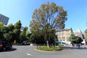 早稲田大学前のロータリーの写真素材 [FYI01479473]