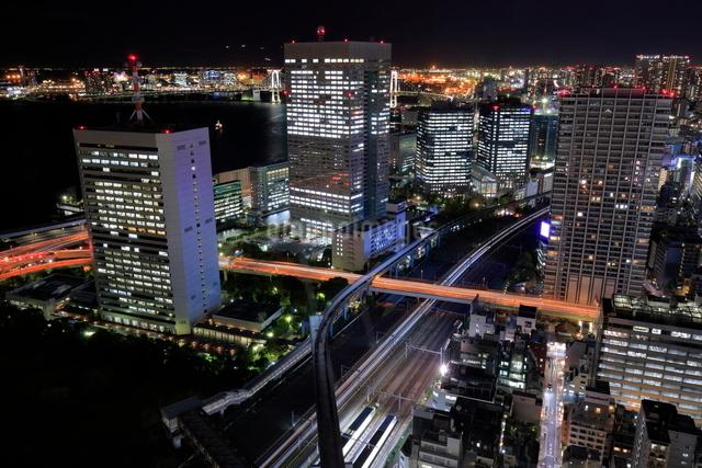 浜松町の夜景の写真素材 [FYI01479580]