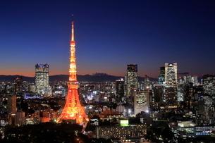 東京の夜景の写真素材 [FYI01479891]