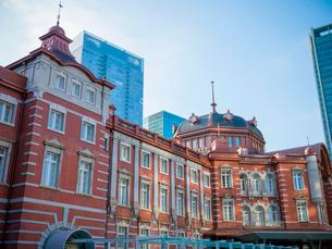 東京駅丸の内駅舎の写真素材 [FYI01480075]