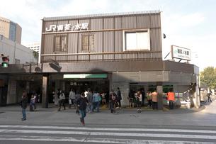 JR御茶ノ水駅聖橋口の写真素材 [FYI01481107]