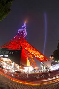 東京タワーのダイヤモンドベールの写真素材 [FYI01482071]