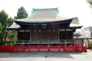 穴守稲荷神社 神楽殿の写真素材 [FYI01483253]