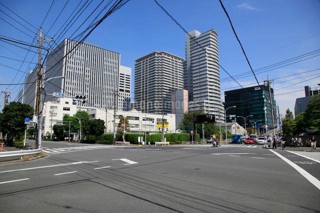海岸通り 八潮橋交差点付近の写真素材 [FYI01483612]
