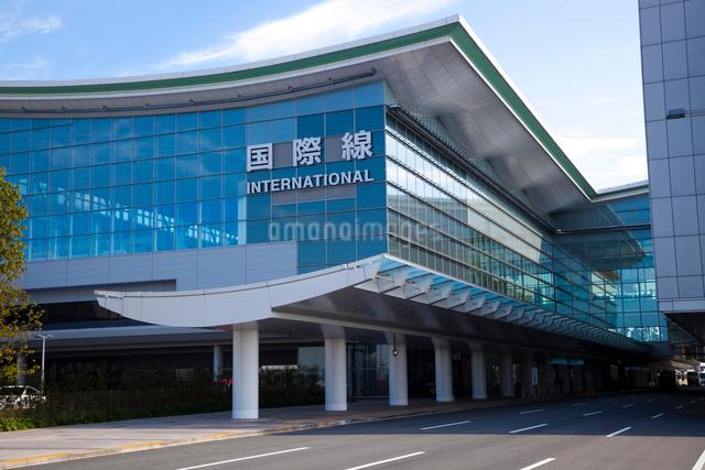 羽田空港国際線旅客ターミナルビルの写真素材 [FYI01483777]
